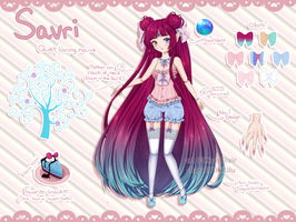 Custom Design: Savri by KirasElixir