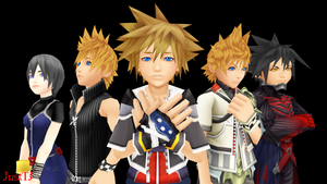 MMD_All One Person by xTerraxJanex