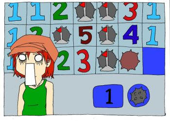 Minesweeper Woes by a-theifs-soul