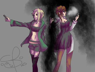 {DRRR!! OC} Gasoline and Clay by Fairy-Tail-Exeed