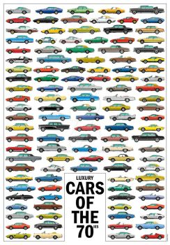 Vector - Luxury Cars of the 70ies by exotic-legends