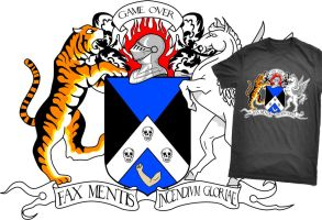 Shirt: Coat of Arms by GAME-OVER-CUSTOM