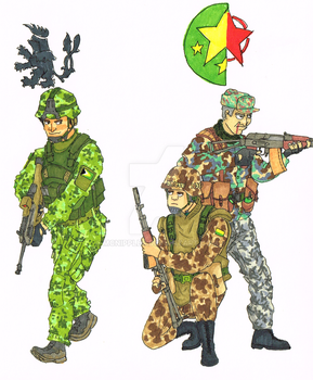 Arma factions by mcnipples