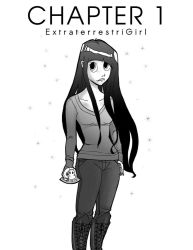 E.T. Girl Chapter 1 cover by Kinbarri