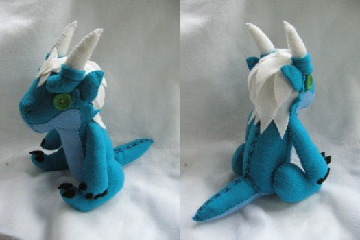 Plushie Commission - Zeocin by Sexual-Pancake