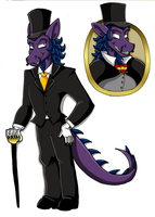 Sly C. - Ludwig Ref. Sheet (OUTDATED) by KaylaTheDragoness