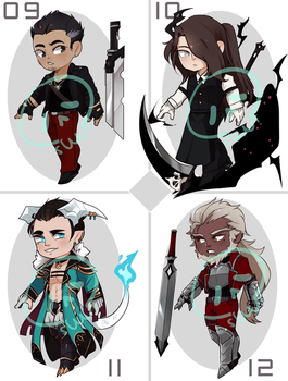 [Adopts] Chibi-Bara III || USD || Closed by Clover1