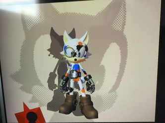 Sonic forces avatar: Jay the wolf by Equestriasservant