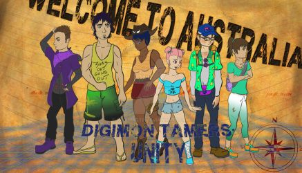 Welcome to Australia: Digimon Tamers Unity by Linkmaste