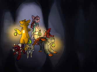 Cave expedition by Caracal-Caracal