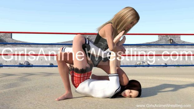 Legs Lock and Arms Hold Combo by georgewrestling