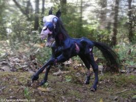 Sculpture: Undead Horse by SovaeArt