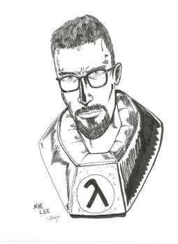 Gordon Freeman by gandalf0987