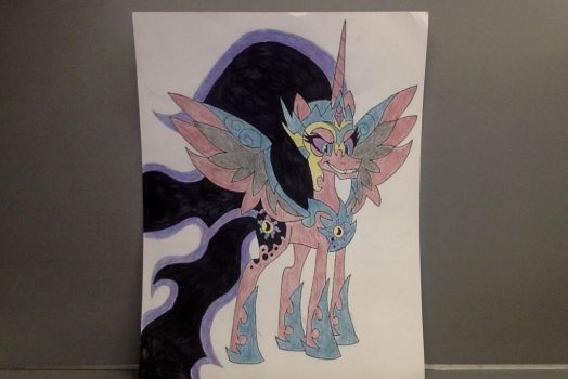 The Queen of Day and Night by GreenThunder321