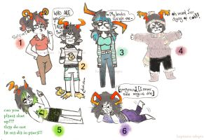 fantrolls batch 3! - OPEN by hapineta-adopts