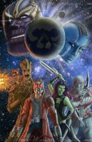 Guardians of the Galaxy by Winged-warrior