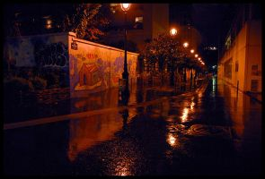 An Alley in Paris by anticide