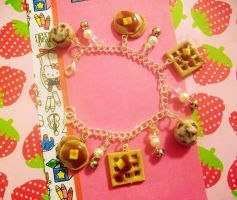 Breakfast Bracelet by pinkDudu