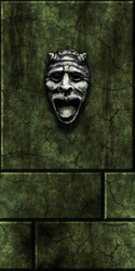 Green stone w/face 1 by Hoover1979