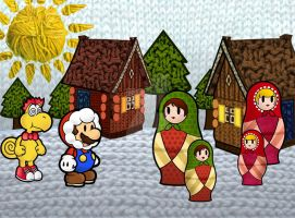 Paper Mario : A Very Russian World ! by MonoKhromatik