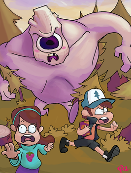 Gravity falls by chocohaulic