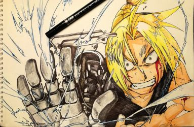 Edward Elric Fullmetal Brotherhood by Khov97
