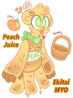|MYO EVENT ENTRY| Peach Juice Ekitai by IlluminationArtistry