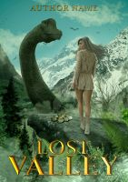Lost Valley Book Cover by SanagaDesign