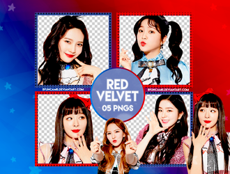 [PNG PACK #429] Red Velvet (Reveluv Baby) by fairyixing