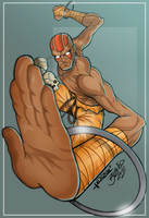 Dhalsim from Street Fighter Colorjob by BouncieD