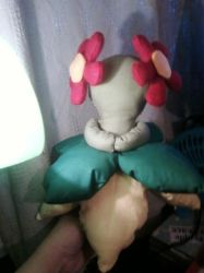 Bellossom Plushie in Progress by Stacychan