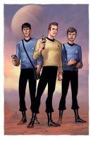 Star Trek- TOS Away Team by DennisBudd