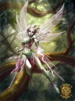 Pixie game card colored by Sabinerich