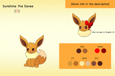 Bio: Sunshine the Eevee by PKM-150