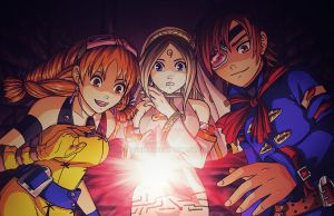 Skies of Arcadia Hunting for the Red Moon Crystal by Ashikai