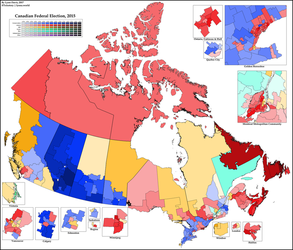 2015 Canadian Federal Election by ToixStory