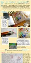 Water-color Tutorial from Starter to Starters by handsomedara