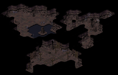 Cave Tileset by pfunked