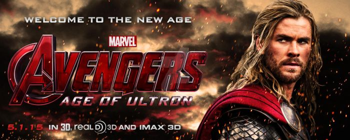 The Avengers: Age of Ultron - Thor Banner by spacer114