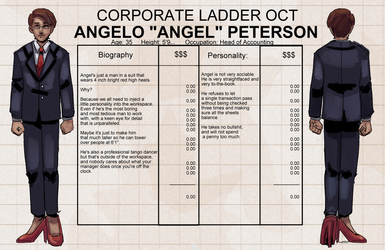Corporate Ladder Judge: ANGEL by PokeLucario