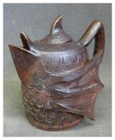 Fish Bird Teapot by nuclei-race