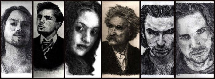 A six pack of pencil work by shuckaby