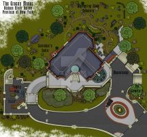 Haunted Mansion Grounds Floor Plan by shadowdion