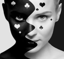 Black And White by JackieCrossley