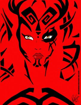 Darth Talon Portrait by Inspector97