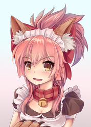 Tamamo Cat Bust by LightningRook106