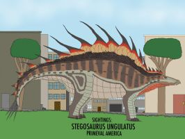 PA: STEGOSAURUS UNGULATUS by HUBLERDON