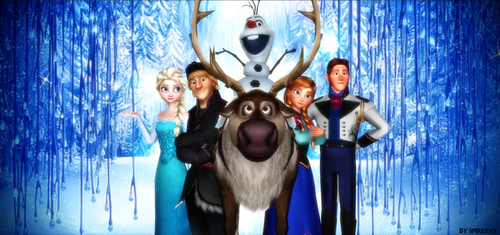 MMD Frozen Family Picture by Spirilynx