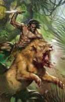 Lord of the Jungle #1 due color by LucioParrillo