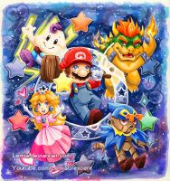 Super Mario RPG by LemiaCrescent